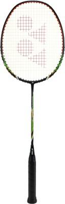 Yonex NANORAY LIGHT 9I Black Strung Badminton Racquet(Pack of: 1, 77 g)