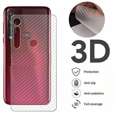 LIKEDESIGN Back Screen Guard for Moto G8 Plus(Pack of 1)
