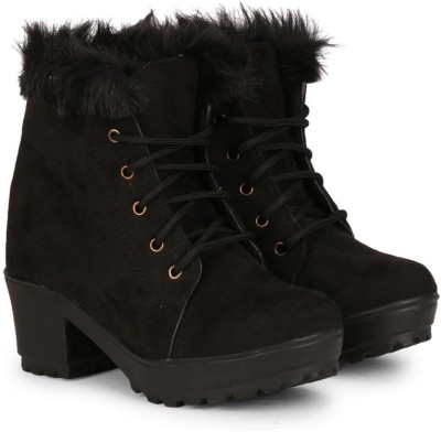 Commander Boots For Women(Black)