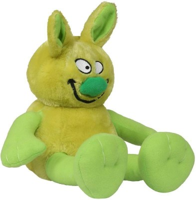 Hamleys Movers   Shakers Ziggles Soft Toy   13.4 inch Green Hamleys Soft Toys