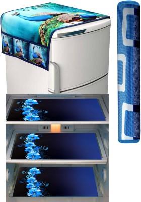 FRC Decor Refrigerator Cover(Green)