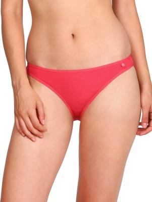 Jockey Women Bikini Red Panty(Pack of 5)