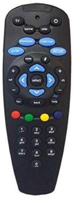 TATASKY Remote Tatasky set top box Remote Controller Black TATASKY Appliance Parts   Accessories
