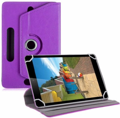 TGK Book Cover for iBall Slide 3G-i80 Tablet 8 inch(Purple, Cases with Holder)