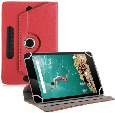 "TGK Book Cover for Google Nexus 9 Tablet 8.9"" (8 inch)(Red, Cases with Holder)"