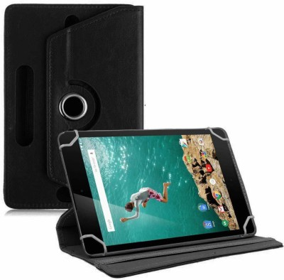 "TGK Book Cover for Google Nexus 9 Tablet 8.9"" (8 inch)(Black, Cases with Holder)"