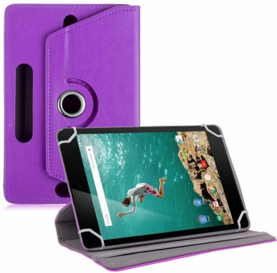 "TGK Book Cover for Google Nexus 9 Tablet 8.9"" (8 inch)(Purple, Cases with Holder)"