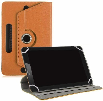 TGK Book Cover for XOLO QC800 Tablet 8 inch(Orange, Cases with Holder)