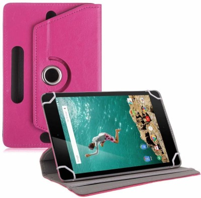 "TGK Book Cover for Google Nexus 9 Tablet 8.9"" (8 inch)(Pink, Cases with Holder)"