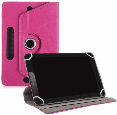 TGK Book Cover for XOLO QC800 Tablet 8 inch(Pink, Cases with Holder)