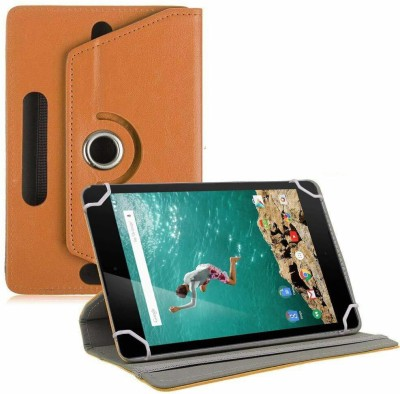 "TGK Book Cover for Google Nexus 9 Tablet 8.9"" (8 inch)(Orange, Cases with Holder)"