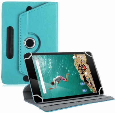 "TGK Book Cover for Google Nexus 9 Tablet 8.9"" (8 inch)(Blue, Cases with Holder)"
