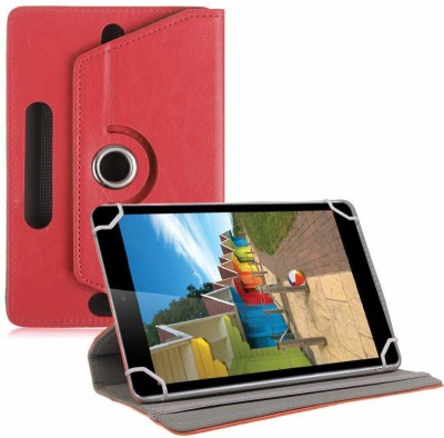 TGK Book Cover for iBall Slide 3G-i80 Tablet 8 inch(Red, Cases with Holder)