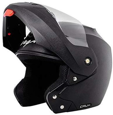VEGA CRUX FF BM Motorbike Helmet(Black)