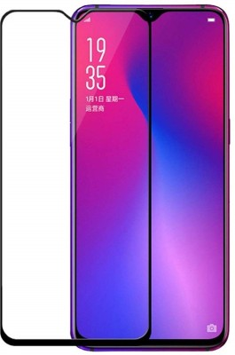 Fovtyline Edge To Edge Tempered Glass for Oppo Reno Ace(Pack of 1)