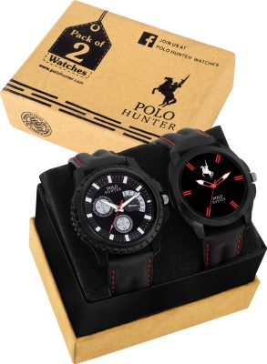 POLO HUNTER PH-1424 Modern Colletion Combo Analog Watch - For Men