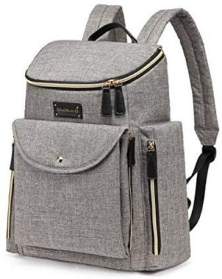 Colorland Mummy Baby Backpack Diaper Bag Grey Colorland Diaper Bags