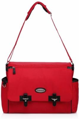 Colorland Multifunctional Messenger Diaper Bag Red