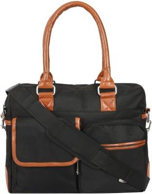 Cambik 14 inch Laptop Messenger Bag Black