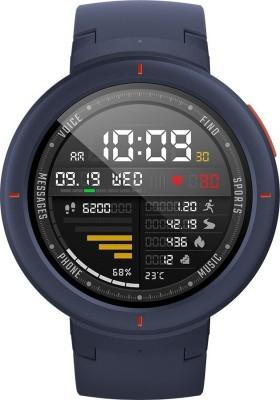 Huami Amazfit Verge Smartwatch(Blue Strap, Regular)