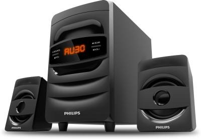 Philips MMS2625B/94 38 W & 31 Bluetooth Home Theatre(Black, 2.1 Channel)