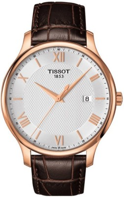 Tissot T0636103603800 Analogue Silver Dial Men's Watch (T0636103603800)