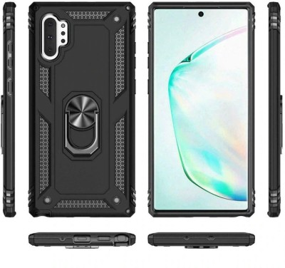 MIOW I CELL Back Cover for Samsung Galaxy Note 10 Plus(Black, Rugged Armor)
