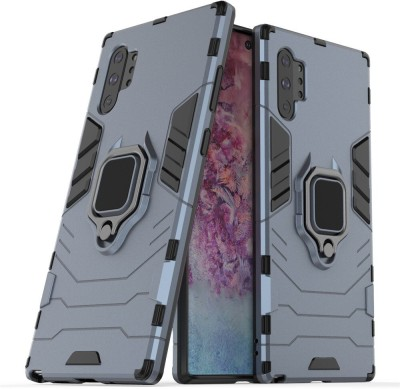MIOW I CELL Back Cover for Samsung Galaxy Note 10 Plus(Blue, Rugged Armor)