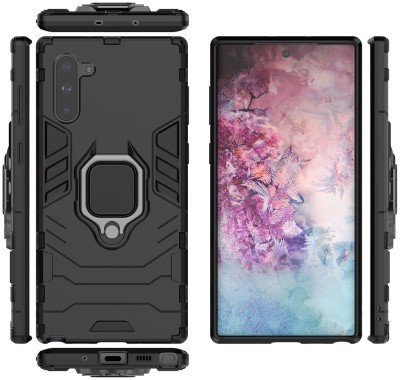 MIOW I CELL Back Cover for Samsung Galaxy Note 10(Black, Rugged Armor)