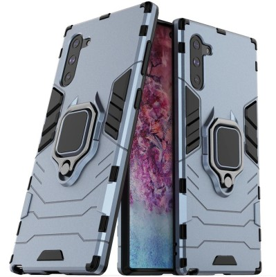 MIOW I CELL Back Cover for Samsung Galaxy Note 10(Blue, Rugged Armor)