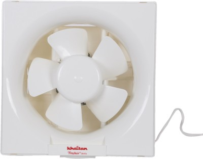 Khaitan Fresh Air Vento 200mm 200 mm Underlight 5 Blade Exhaust Fan(Red, Pack of 1)