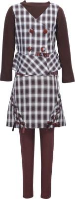 Cutecumber Girls Party(Festive) Waistcoat Skirt(Brown)