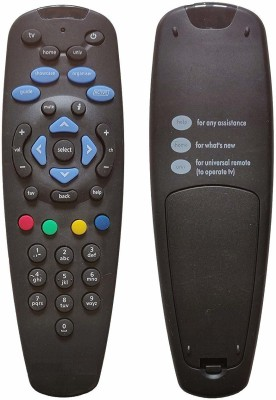 TATASKY Universal remote including battery Tatasky hd TV Remote Controller Black