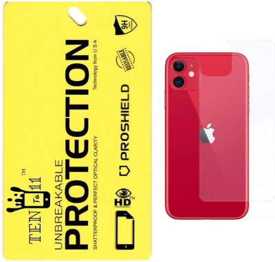 Ten To 11 Back Screen Guard for Apple iPhone 11 Pro(Pack of 1)