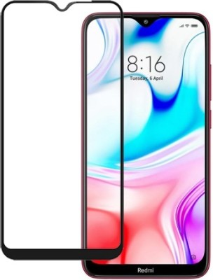 Brown Bee Edge To Edge Tempered Glass for Redmi 8(Pack of 1)