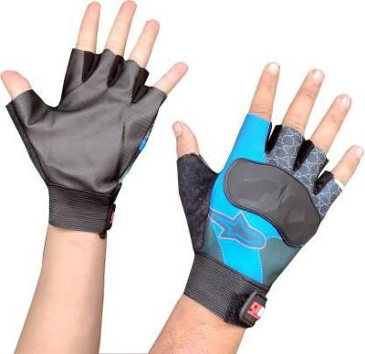 zaysoo Bike Gloves for Riding, Mountain Bike Half Finger Anti slip Gloves Riding Gloves(Multicolor)