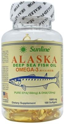 sunline alaska Deep Sea Fish Oil Omega 3 1000 mg