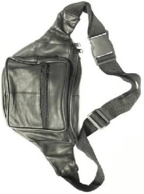 fozti Multipurpose Travel Comfortable Waist Bag Black fozti Waist Bags
