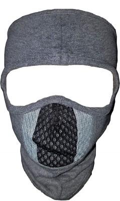 Flipkart SmartBuy Grey Bike Face Mask for Men & Women  (Size: Free,  Balaclava)