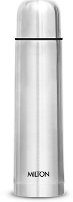 Milton Thermosteel Flip Lid 500 ml Flask(Pack of 1, Silver, Steel, Copper)