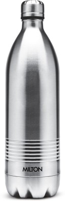 MILTON DUO DLX 1000 ml Flask(Pack of 1, Steel/Chrome, Steel)