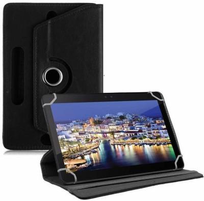 TGK Book Cover for iBall Slide 3GQ1035 Tablet 10.1 inch(Black, Cases with Holder)