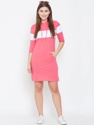 Jhankhi Women Bodycon Pink Dress