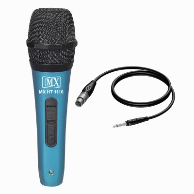 MX Multi-Purpose Vocal Dynamic Mic Microphones with XLR to Mono Cable HT-1116 Microphone