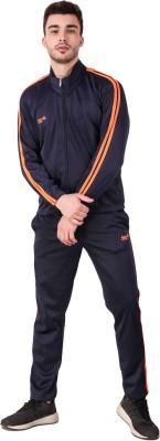 Pro Sports Striped Men Track Suit