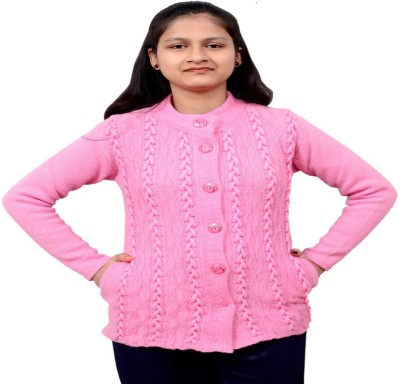 New Vastra Lok Women Button Solid Cardigan