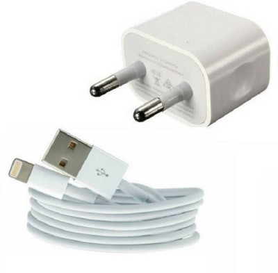 Datalact Lightning to USB 1 A Mobile Charger with Detachable Cable White, Cable Included