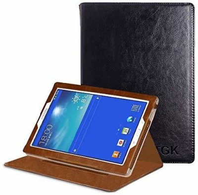 TGK Flip Cover for Samsung Galaxy Tab 3 7.0 inch Neo Lite TAB 3V, T116, T113, T110, T111 Genuine Leather Case(Black, Shock Proof)