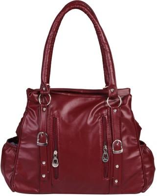 FANEX Women Maroon Hand held Bag FANEX Handbags