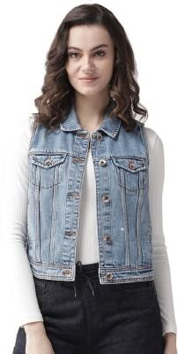 Xpose Sleeveless Washed Women Jacket
